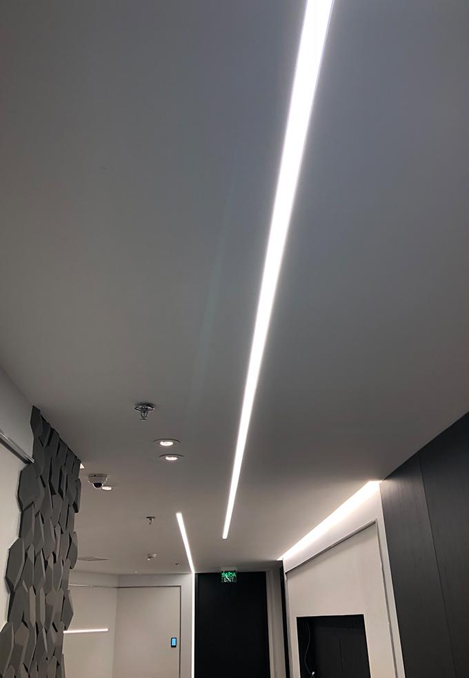Projeto luminotécnio corporativo